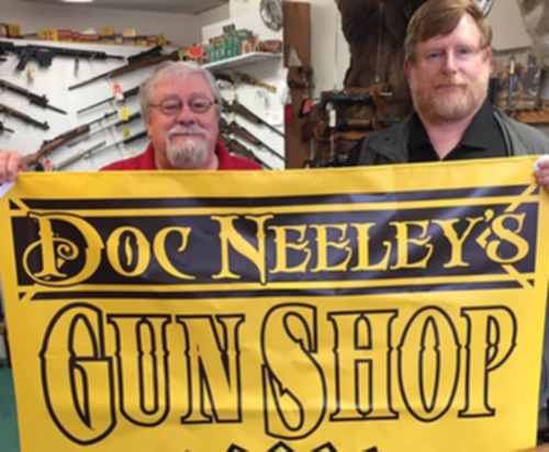 Doc Neeleys Gun Shop has Experienced Gun Sales Staff