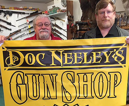 Doc Neeleys Gun Shop has Experienced Staff
