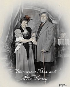 Mrs. and Doc Neeley, Owners of Doc Neeley's Guns