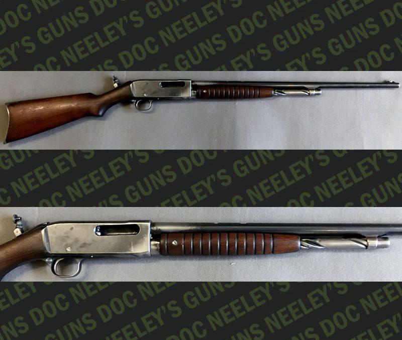 Remington Model 14 Pump Rifle